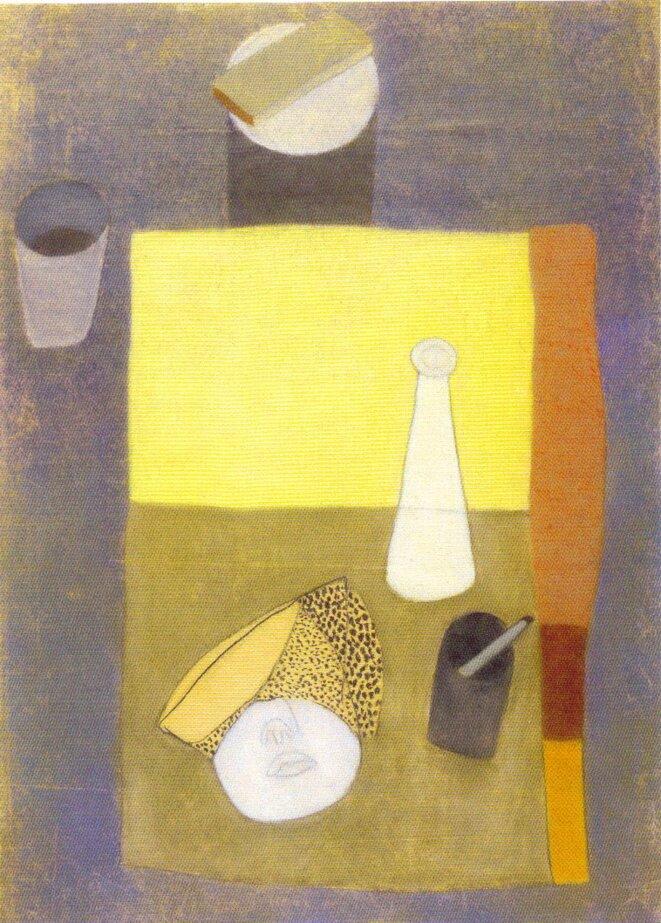 Lajos Vajda - Pastel sur papier, 1934