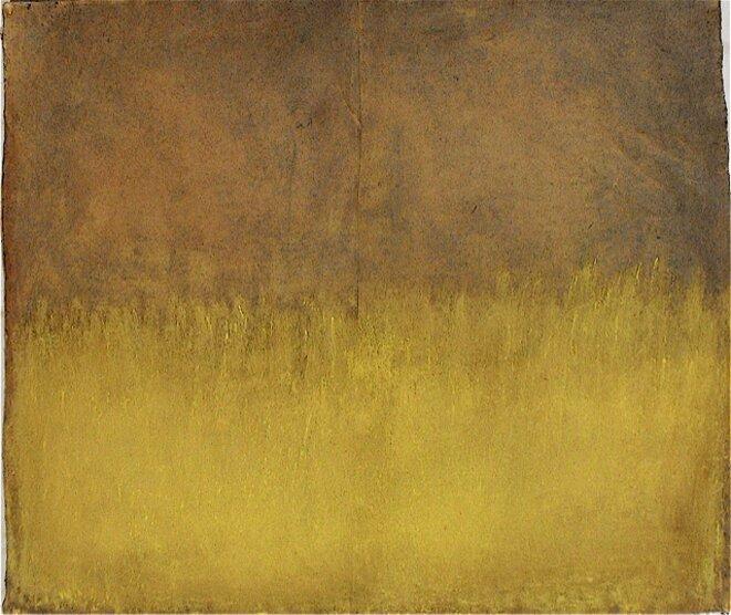 Hautes herbes, peinture © Véronique Gentil