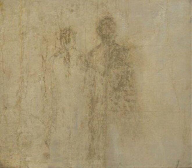 """Véronique Gentil, peinture """"La disparition"""""""