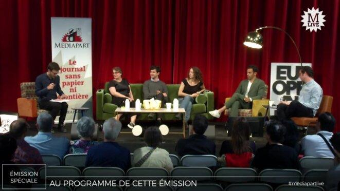Mediapart Live débriefe les européennes