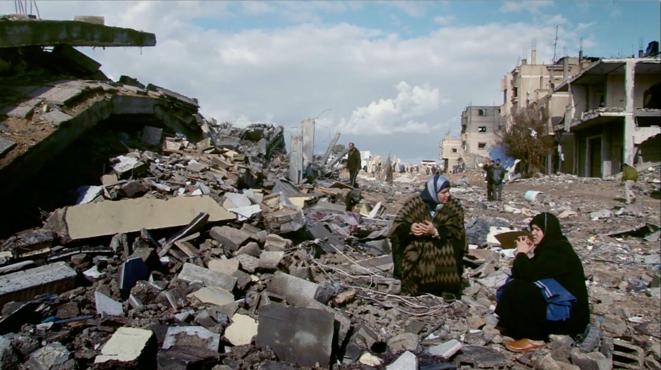 Au cœur de Gaza, dans les premiers jours de l'opération «Plomb durci»