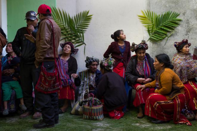 Au Guatemala, en mémoire des massacres des indigènes