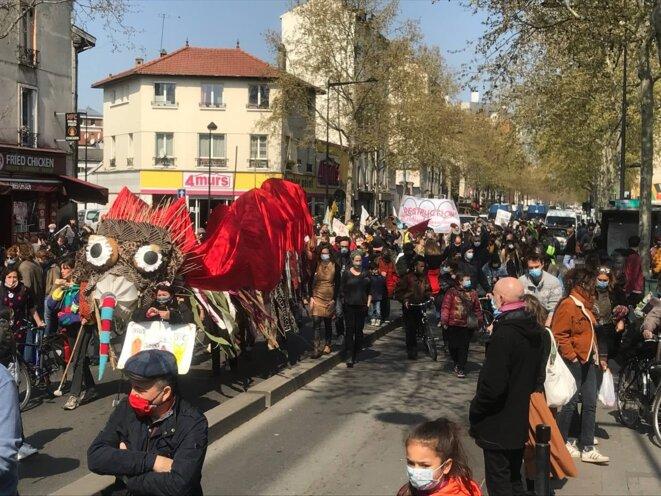 17 avril - Retour sur près de 40 actions «contre la réintoxication du monde»