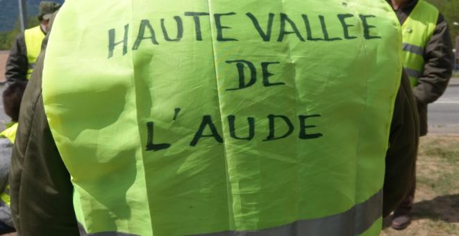 Gilets Jaunes à Quillan dans l'Aude: Acte 25 sur le rond-point