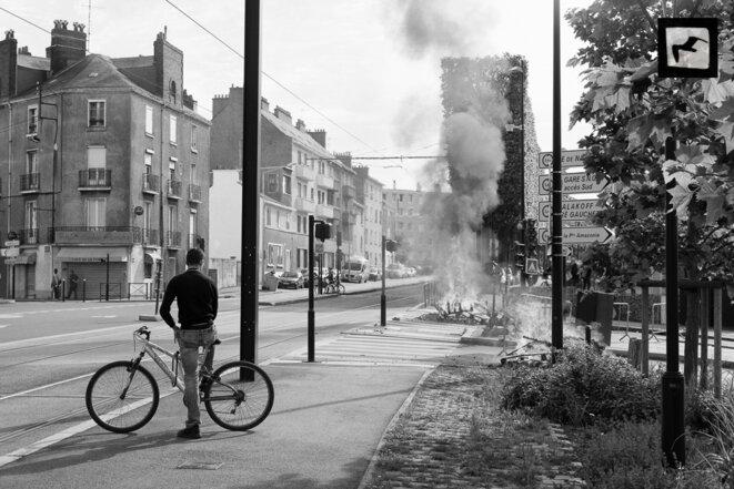 A Nantes, la drôle de guerre