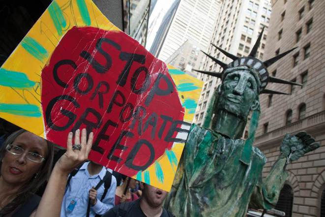 Manif anniversaire et arrestations pour Occupy Wall Street