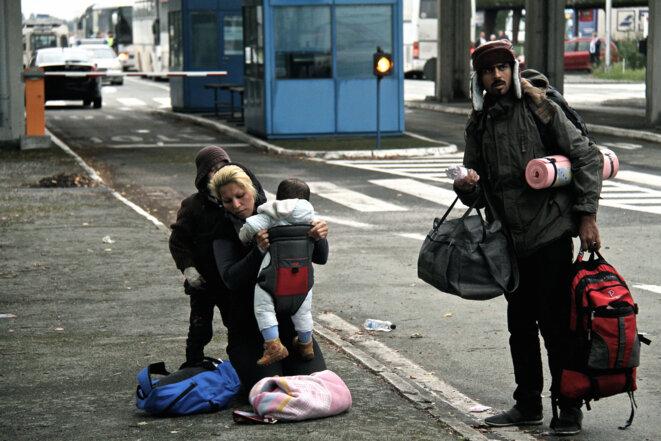 Croatie, Serbie, Hongrie, les réfugiés à saute-frontières