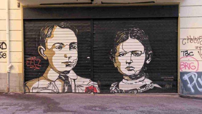Art de la rue à Marseille
