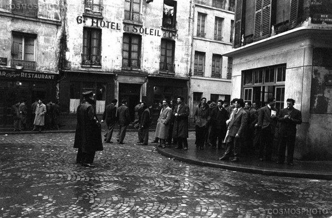 La vie des Nord-Africains à Paris en 1955