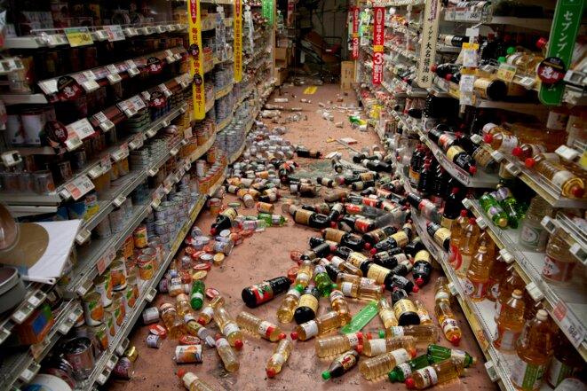 Fukushima (2/7): le supermarché abandonné