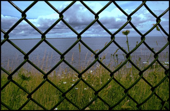 Fences (clôtures), opus 1: Cliffwalk à Newport, Rhodes Island, USA