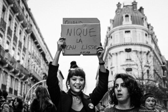 Journée des droits des femmes: extrait de défilé