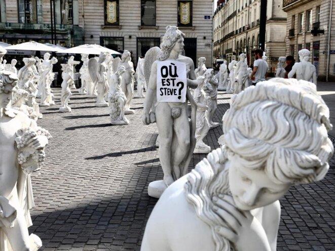 L'interrogation «Où est Steve?» partout dans les rues de Nantes