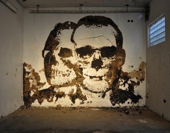 Graffitis abandonnés