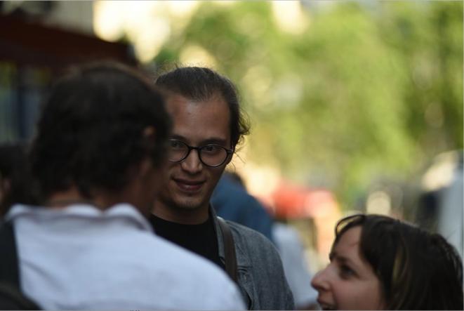 Les visages du concours de courts métrages «New Génération» du Festival Ciné-Palestine