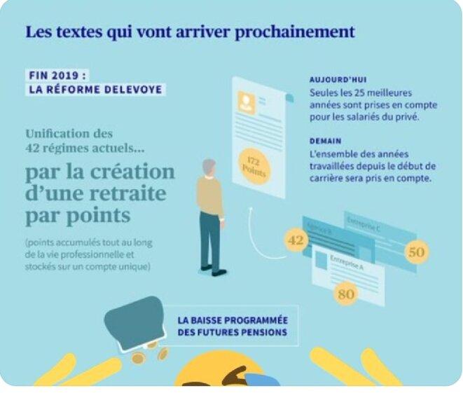 """AXA prévoit """"la baisse programmée des futures pensions"""" dans une affiche publicitaire"""