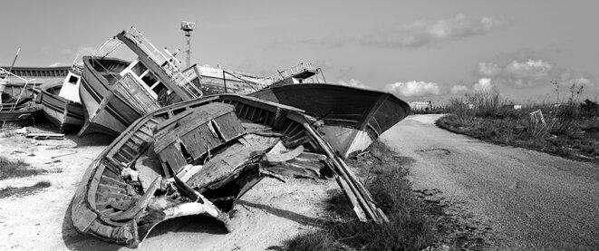 Chaque mer a une autre rive: frontières, Lampedusa et Vintimille