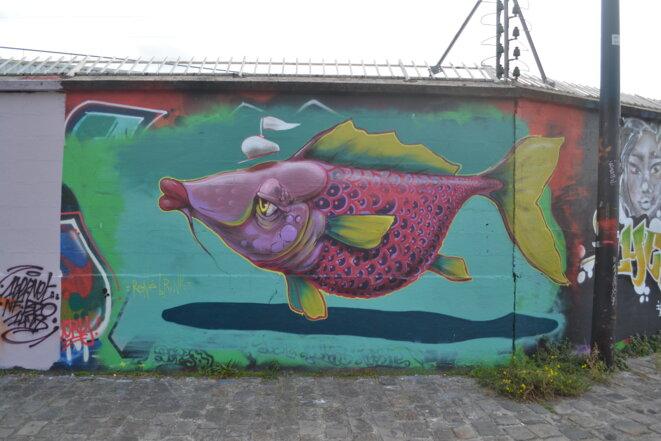 Le street art du canal de l'Ourcq (Paris 19ème)