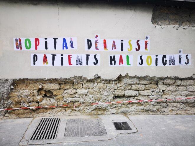 Mediapart à la manifestation pour sauver l'hôpital public