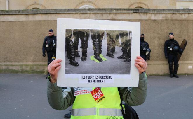 29 janvier à Paris: police partout, retraites nulle part