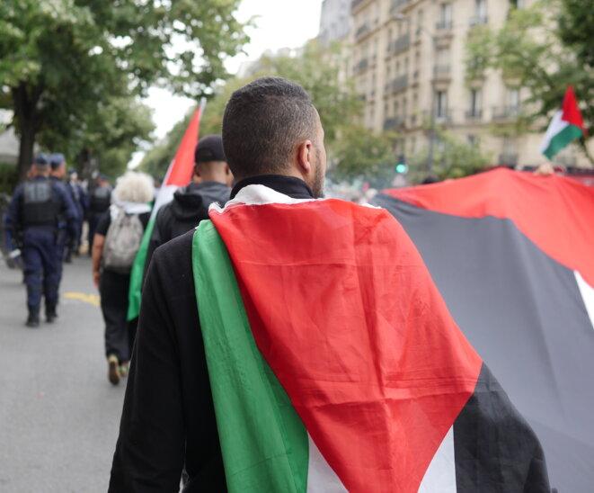 Marche en solidarité avec la Palestine: «ni annexion, ni occupation!»