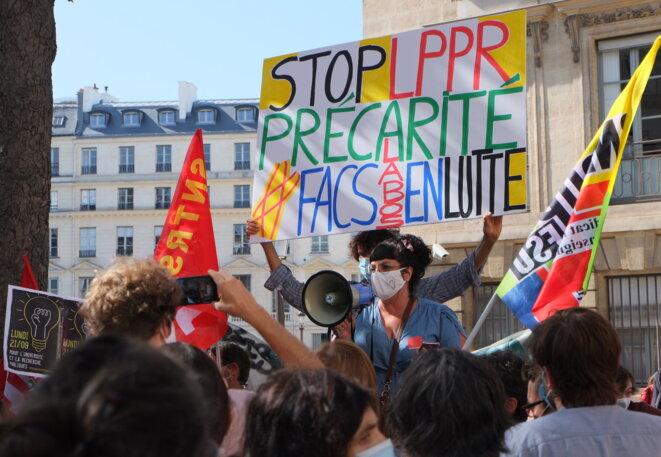 Pour l'université et la recherche publiques, contre la LPPR!