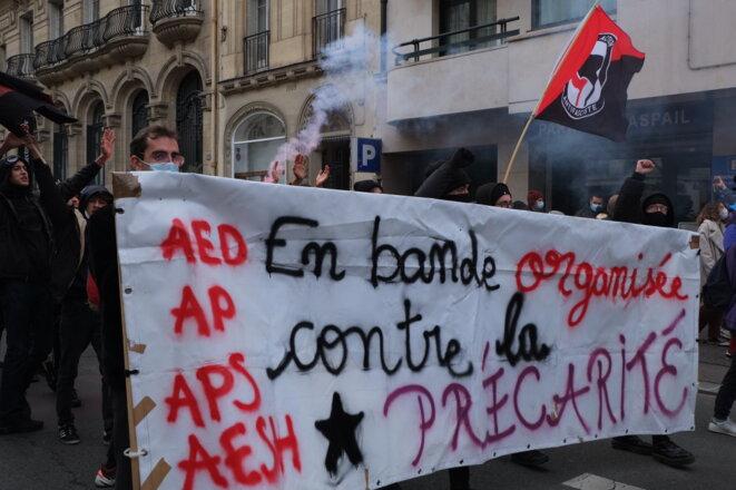 Grève du 26 Janvier à Paris