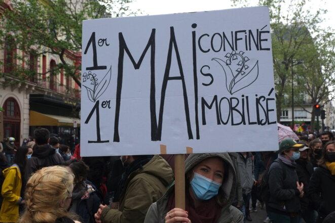 1er Mai confiné, mais mobilisé!