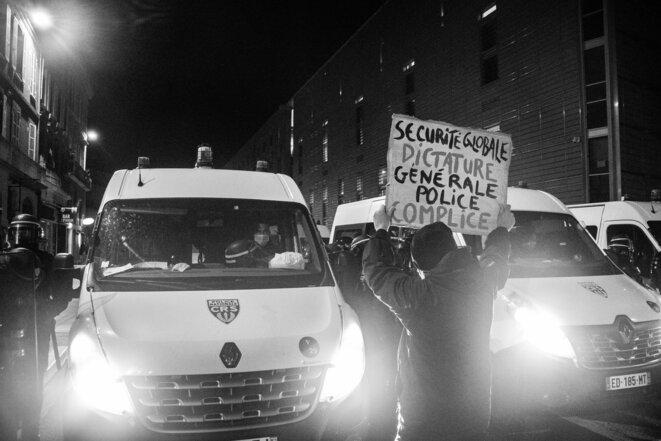 A Toulouse, 5000 personnes demandent le retrait de la «loi sécurité globale»