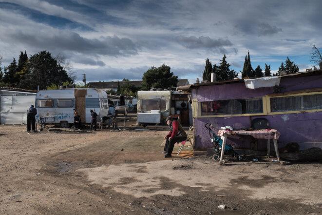 Nouvelle évacuation et destruction de bidonville à Montpellier
