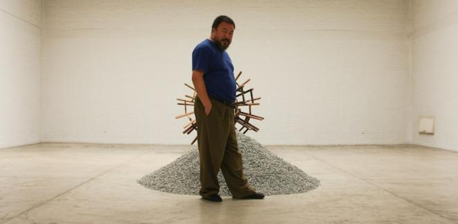 Ai Weiwei, août 2009 © Jordan Pouille