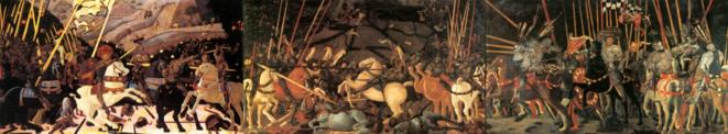 La Bataille San Romano (1432), Paolo Uccello