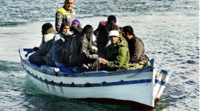 Migrants Tunisiens venus en Italie, 2011 / RFI