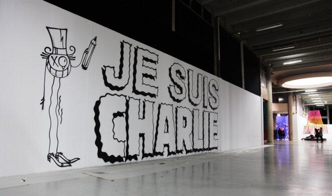 """""""Je suis Charlie"""" par André"""