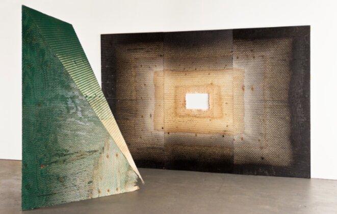 Vue d'atelier © Michael De Lucia - courtesie Galerie Nathalie Obadia