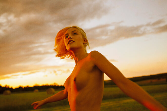 Carlotta, 2013 © Ryan McGinley, courtesy Galerie Perrotin