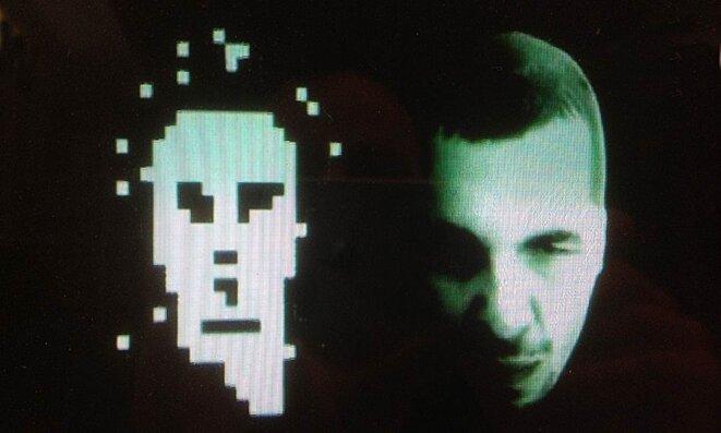 Visuel du film @nonymous99, portraits de Space Invader et Zevs