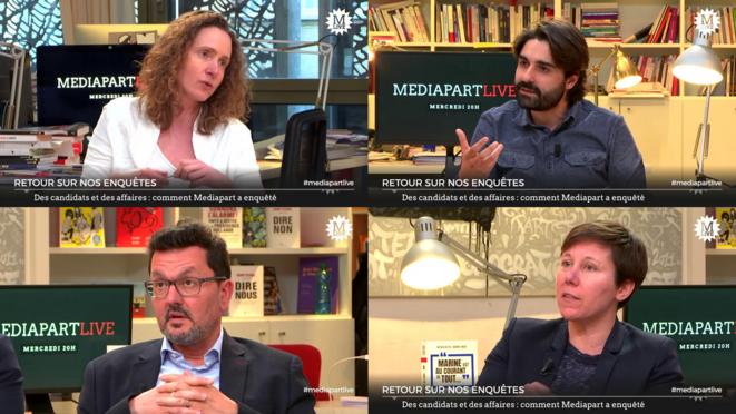 Des candidats et des affaires: comment Mediapart a enquêté