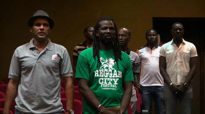 Au Burkina Faso, «Place à la révolution» en musique