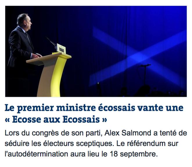 Le Monde, 12 avril 2014