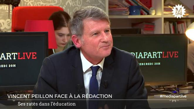Vincent Peillon face à la rédaction