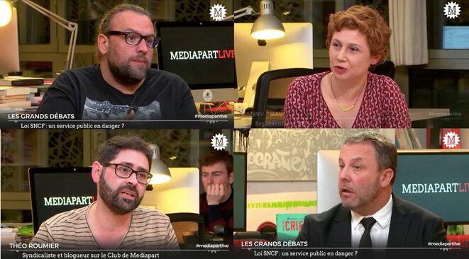 Mediapart Live: La SNCF, la mobilisation sociale, les lieux d'enfermement...