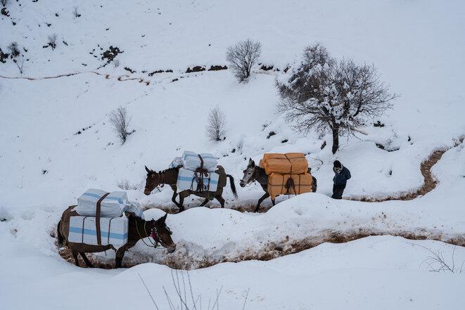 A la frontière Irak-Iran, avec des Kurdes passeurs illégaux de colis