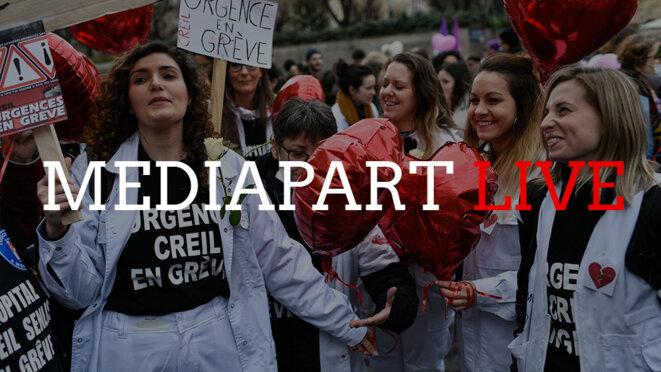MediapartLive «hors les murs» avec ceux qui veulent sauver l'hôpital public