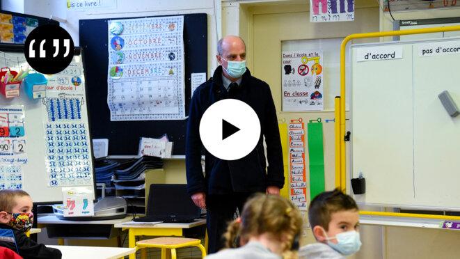 Usul. Ecoles ouvertes: le pari morbide de Blanquer et Macron