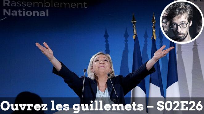 Usul. Qui a encore peur de Marine Le Pen?