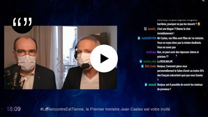 Usul. Jean Castex chez Samuel Etienne: Twitch au secours de l'ancien monde