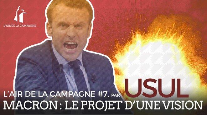 Emmanuel Macron, le projet d'une vision