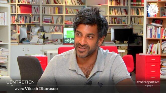 Vikash Dhorasoo: «On peut être de gauche et jouer pour Berlusconi»