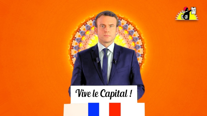 Remix de Macron: «Vive le Capital!»
